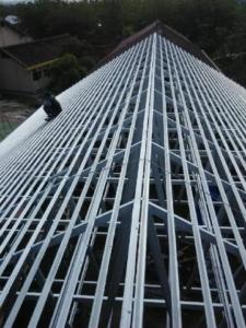 rangka atap baja ringan,