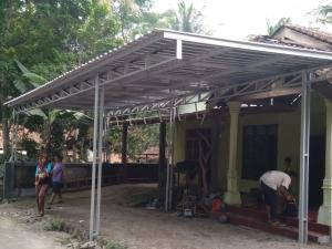 kanopi atap galvalum murah jogja